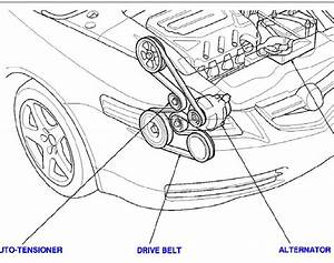 Need Belt Diagram For Acura Tl 2004