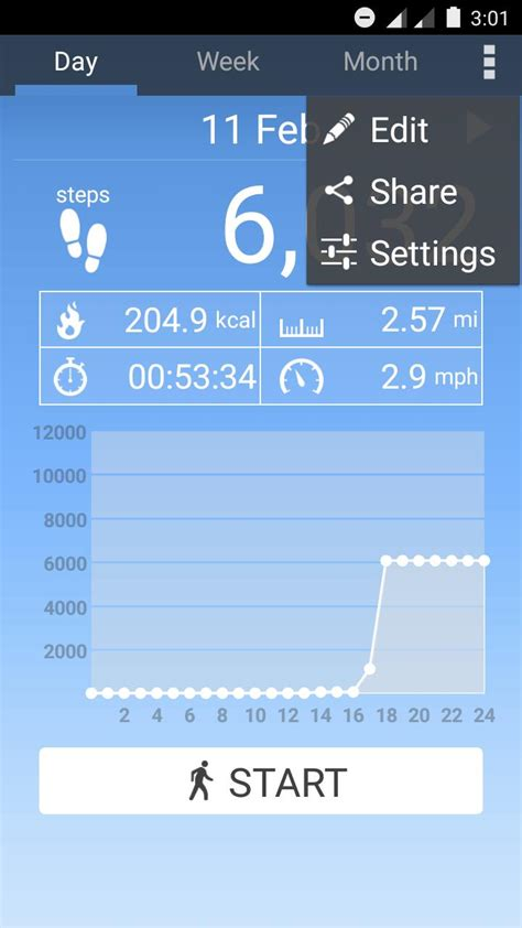 pedometer app for android pedometer app track steps and calories you ve burnt