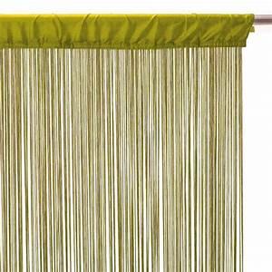 Fil Tringle Rideau : rideau fil l90 anis rideau et voilage eminza ~ Premium-room.com Idées de Décoration