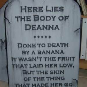 Funny Halloween Tombstone Sayings Images by Halloween Funny Tombstone Quotes Quotesgram