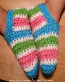 Kids Crochet Slippers Pattern Free