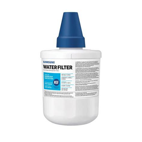 samsung refrigerator water filter haf cus  home depot