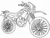 Motocross Coloring Transportation Para Colorear Pages Dibujos Motos Imprimir Gratis Malvorlagen Quad English Kb Drawing sketch template