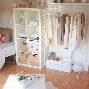 Offener Schrank Vorhang : 70 coole bilder von vintage schlafzimmer ~ Markanthonyermac.com Haus und Dekorationen