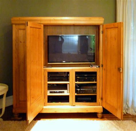antique pine tv antique vintage belgium pine armoire tv cabinet ebay