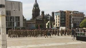 Leeds commemoration march marks 100 years since First ...