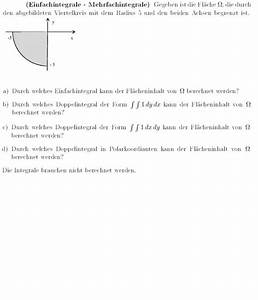 Doppelintegrale Berechnen : gegeben ist eine fl che die durch den abgebildeten ~ Themetempest.com Abrechnung