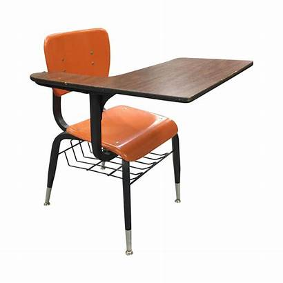 Desk Chair Clipart Desks Orange Teachers Re