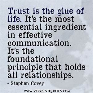 Relationship Quotes Trust And Communication. QuotesGram