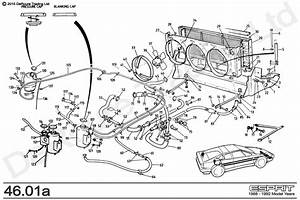 Service Manual  How To Replace Radiator Hoses 1998 Lotus Esprit