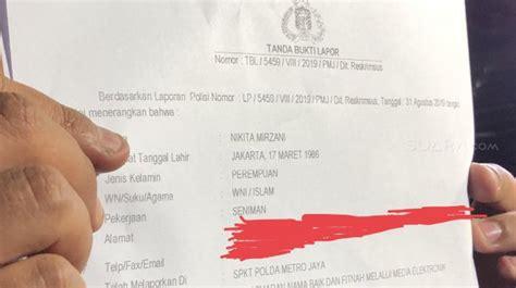 Disebut Pelacur Nikita Mirzani Ogah Maafin Poppy Kelly