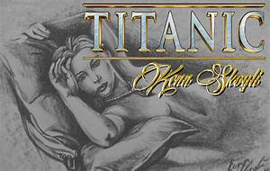 Drawn titanic titanic real rose - Pencil and in color ...
