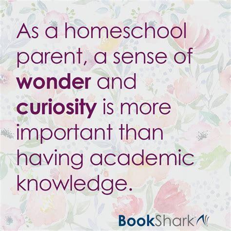 homeschool parent  sense    curiosity