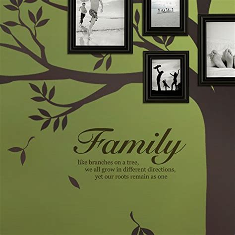 Family Like Branches On A Tree Quote Lettering Decal