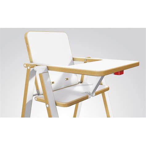 Chaise Haute Supaflat Blanc Supaflat Design Bébé