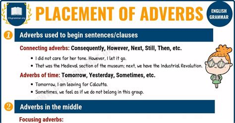 Here is a general guide to adverb placement in english. Pin on English Grammar