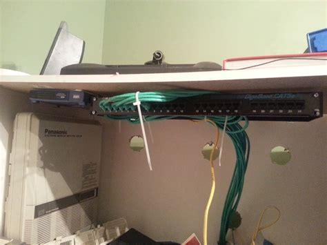 Nyphonejacks Finally Started Setting Patch Panel For