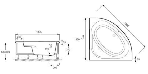 cuisines destockage baignoire d 39 angle domo 135x135 acrylique avec châssis