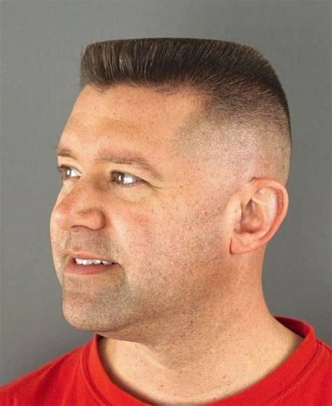 flattop flat top haircut top haircuts  men army haircut