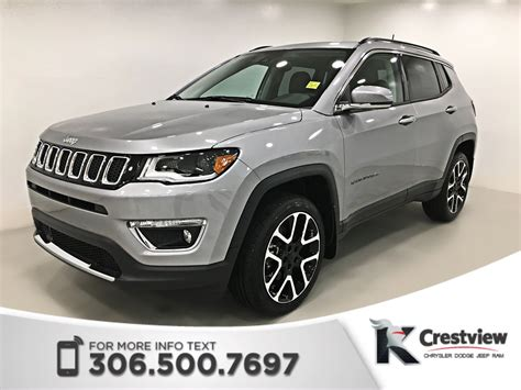 jeep compass limited sunroof new 2018 jeep compass limited 4x4 sunroof navigation