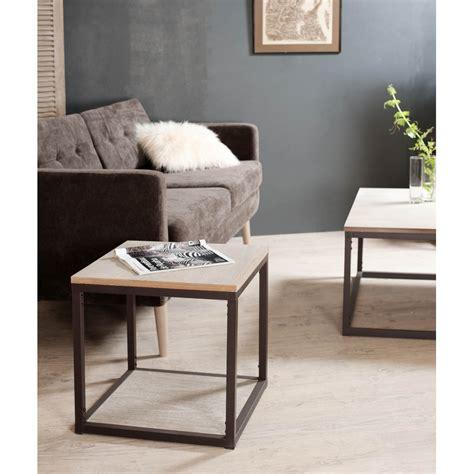 bouts de canape bout de canapé avec tablette meubles macabane meubles