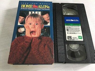 Home Alone With Macaulay Culkin Vhs Video Movie Pg • $199 Picclick