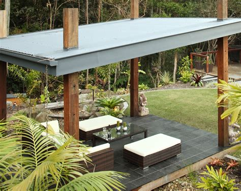 patio image superb corrugated metal roofing fashion brisbane tropical patio image ideas with corrugated