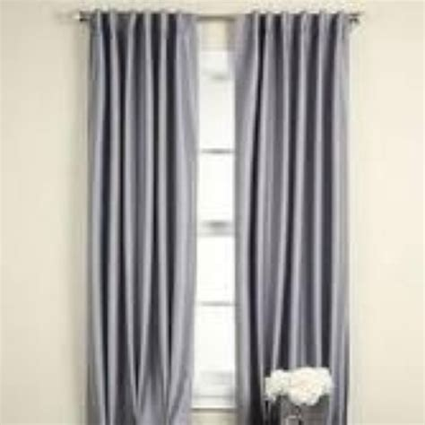 Jcpenney Drapes Thermal - jcpenney supreme back tab curtain thermal 63 72 84 95l ebay