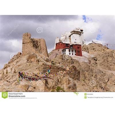 Namgyal Tsemo Gompa Stock Images - Image: 36422804