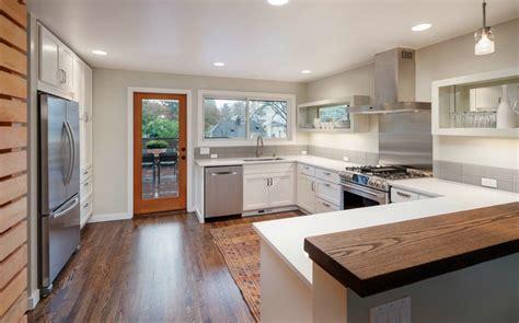 Galley Style Kitchen Design Ideas - re modeled madrona mid century modern urbnlivn