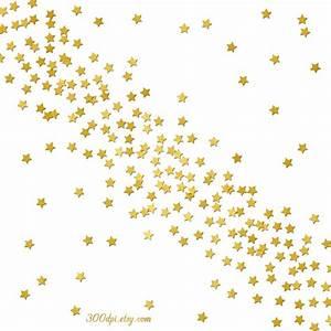Free Gold Confetti Clipart - ClipartXtras