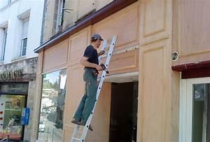 Façade magasin Ebénisterie Armellin Ebéniste Gironde