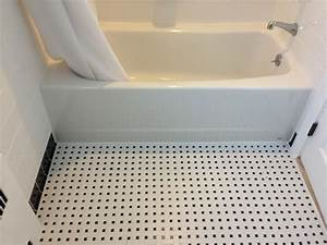 Ceramic White 4x4 with Black Cove Base Tile, Listello and