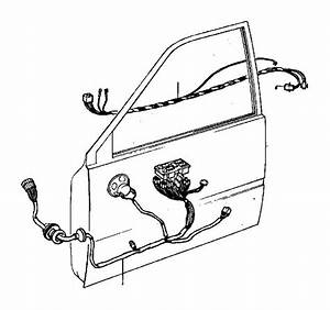 Volvo 740 Wiring Harness  Bottom Rail  Cabin  Cable