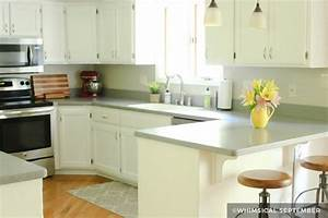 painting kitchen cabinets before after 1033