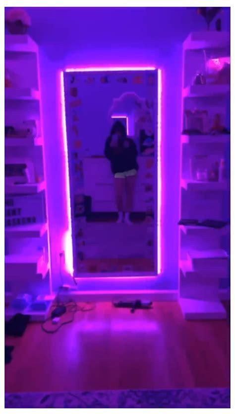 Led Lights In Room Tiktok by Credit To Gabby Rodriguez55 On Vsco Dsco Bedroom