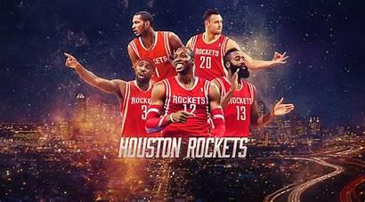 Rockets Houston Nba Team Wallpapers Starting Lineup
