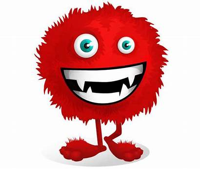 Monster Character Fluffy Monsters Vector Characters Cartoon