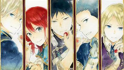 Akagami Shirayukihime Characters Anime Manga Fandom Wiki