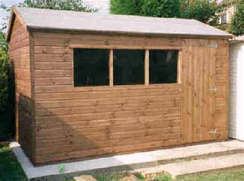 12 x 8 apex garden shed by sheds unlimited