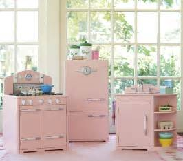 pink retro kitchen collection a retro pink kitchen at pottery barn bad it s for retro renovation