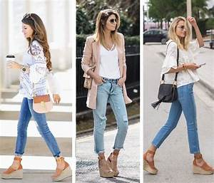 Chloe Espadrille Wedges Outfits | Wedges outfit ...