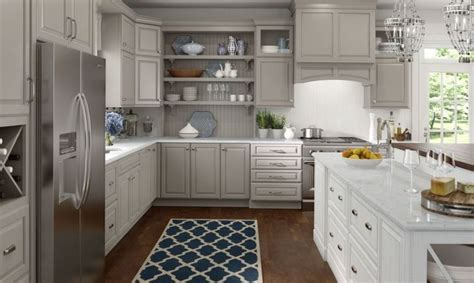 maple kitchen cabinets lowes lowe s medallion cabinets wall and base cabinetry shown 7354