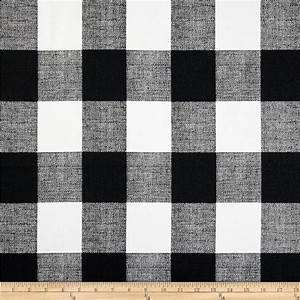 Premier Prints Anderson Check Black/White - Discount