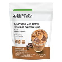 Herbalife high protein iced coffee is a healthy and nutritious herbalife weight loss protein snack that aids weight loss. High Protein Iced Coffee House Blend - Herbalife - Astral Moon Holistic Healing