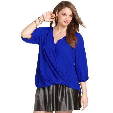 blue blouse cobalt blue blouses plus size model blouse batik