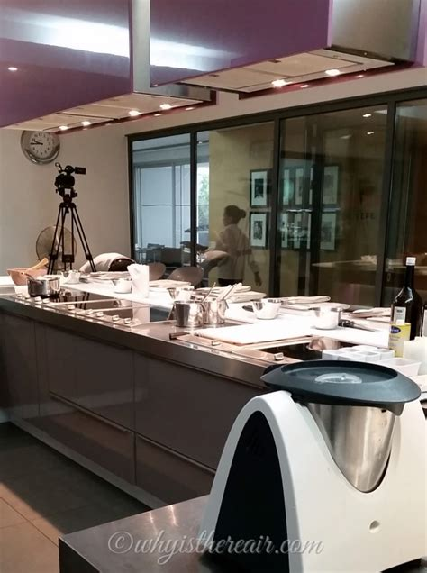 ecole de cuisine thermomix steam cooking with miele at alain ducasse of cooking in