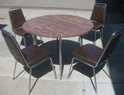 uhuru furniture collectibles sold retro kitchen table  chairs