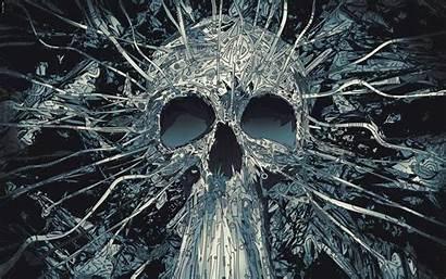 Skull Abstract Wallpapers Skulls Awesome Dark Laptop