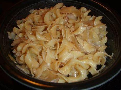 cabbage noodles halushki recipe sparkrecipes